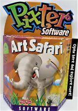 Pixter Software  Art Safari By Fisher-Price  Brand New