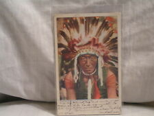 1904 POST CARD FOR CHIEF BILL ROCK