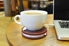 Hot Cookie USB Cup Warmer et thé tasse à café stand-Garder Votre Boisson Chaude