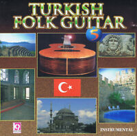 Turkish Folk Guitar 5 CD - E.Adnan Ergil very good World Turkish