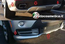 Spoiler BMW X5 E70 2006- Spoiler sotto paraurti posteriore+anteriore estrattore