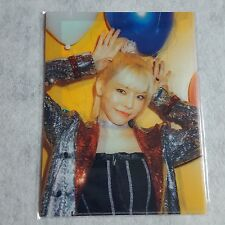Girls' Generation Holiday to Remember 10th Anniversary Sunny File Folder+Photo