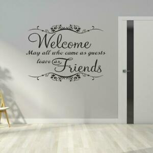 Welcome Wall Quotes For Sale Ebay