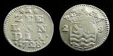 Netherlands / Zeeland - Dubbele Wapenstuiver 1728 ~ CNM 2.49.95