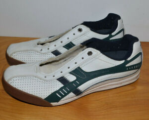 Mens Sketchers 1992 Five Star Champions Shoes Size 8.5 Sneakers White Green
