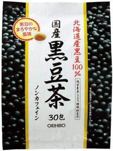 Orihiro Japan Black soybean tea 30packs Kuromame 100%