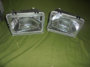 Fiat Space 127 147 Brazilian Pair Of Lights New
