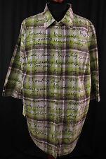 Ulla Popken Damenblusen,-Tops & -Shirts im Blusen-Stil mit Baumwolle für Freizeit