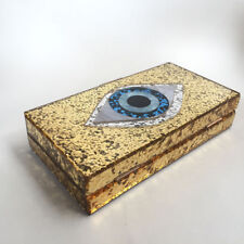 Palladium™  Evil Eye GOLD Evening Wedding Party Clutch Bag  Shoulder BN