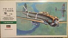 1/48 Japanese Nakajima Ki-43-I Hayabusa (OSCAR)  -- Hasegawa JT80