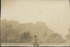 Ecosse, Edimbourg, Edinburgh Castle, le Château Vintage silver print Tirage