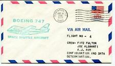 1977 Boeing 747 Space Shuttle Aircraft Flight 4 Fulton Algranti Roy Edwards USA