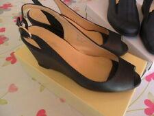 5b3e45b673 Scarpe da donna aperte in punta nera | Acquisti Online su eBay