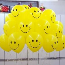 """5 - 50 smile Face 11"""" Spotty LATEX BALLOONS Birthday Party Decoration Supplies"""