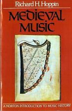 The Norton Introduction to Music History Ser.: Medieval Music by Richard H....