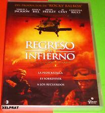 REGRESO AL INFIERNO / HOME OF THE BRAVE - English Español DVD R2 Precintada