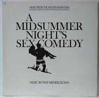 Felix Mendelssohn A Midsummer Night's Sex Comedy Woody Allen Soundtrack Promo LP