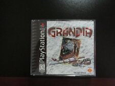 Grandia PS1 Black Label PlayStation Chrono Trigger EarthBound NEW COMPLETE MINT