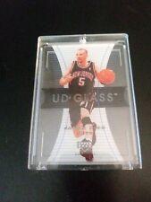 2004 Jason Kidd Upper Deck Glass Card  NETS   Rare