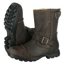 Bearpaw McKinley II Boots - Leather, Sheepskin-Wool Lining  Mens Size 10 D Brown