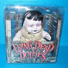 "Mezco Toys Living Dead Dollys Serie 1 Hush 10 ""Baby Doll En Caja Completo Raro"