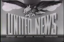 UNITED NEWS 1942 NEWSREELS VOLUME 1 VINTAGE RARE DVD