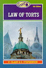 Law of Torts (Swot), Clark, Peter & Stephenson, Graham, Used; Very Good Book