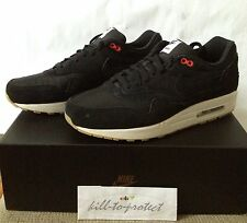 NIKE AIR MAX 1 ONE ENGLAND US11 UK10 HYPERSTRIKE 999888-001 Black 2013 Yeezy
