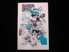 1971 Villanova University Football Official Media Guide EX+