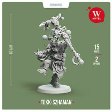 Artel W Ork Tekk Szhaman Weirdboy Shaman 28mm Miniature