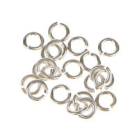 20x 925 Sterling Silver Open Jump Ring Connector Jewelry Making Findings 3mm
