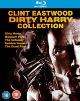 Dirty Harry Collection DVD (2009) Clint Eastwood, Siegel (DIR) cert 18 5 discs