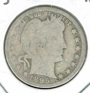 1897  Philadelphia Circulated Silver Liberty Head Quarter Coin!