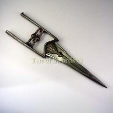 Antique 18c Indo-Persian Katar Damascus Mahrattas Dagger