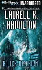 A LICK OF FROST unabridged audio book on CD by LAURELL K. HAMILTON - Brand New!