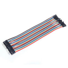 40Pcs 10cm Female To Female Dupont Wire Jumper Cables For Arduino Breadboard