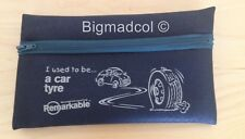 Remarkable recycled Pencil Case I used to be a car tyre Eco Friendly NEW - GREEN