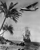 Pan Am Clipper Sikorsky S-42 Airplane Flying Boat Spanish galleon promo photo