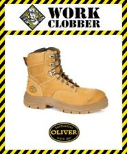 Oliver AT55 Series Nubuck Leather Safety Zip Sided Boot 55332Z NEW WITH TAGS!