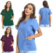 Medizinische Uniforms V Neck Top Krankenschwester Krankenhaus Berufskleidung