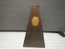 Vintage Metronome De Maelzel Made by Seth Thomas Co.~Key Wind~Wooden~USA~Working
