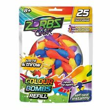 Zorbz Colour Water Balloon Refills (25 Pack) From Rebel Sport