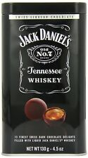 Jack Daniel's Tennessee Chocolate Delights Filled With Whiskey - Made in Swiss!