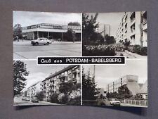 AK Gruß aus Potsdam - Babelsberg, Patrizierweg, Gluckstraße, Kaufhalle, 1986