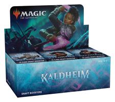 Kaldheim borrador Booster Box-MTG -! totalmente Nuevo! nuestro poder envío rápido!