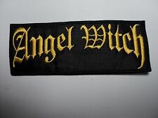 ANGEL WITCH LOGO  EMBROIDERED PATCH
