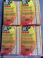 FOUR JUST ONE BITE 1 lb BARS II RAT MOUSE POISON SAME DAY PRIORITY SHIPPING