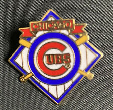 Chicago Cubs Vintage Throwback Style Collectable Lapel Pin - MLB - Peter David
