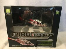 NEW Micropter Micro Wireless Remote Control Indoor Helicopter 80 Ft Range