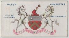 Worshipful Company Of Wheelwrights Of London  England 100+ Y/O Trade Ad Card